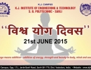 World Yoga Day Celebration on 21st June 2015