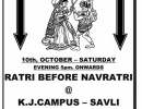 MINI SPARK 2015, INTER BRANCH GARBA COMPETITION & RATRI BEFORE NAVRATI