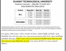 GTU - Even Semester 2017 Term Dates